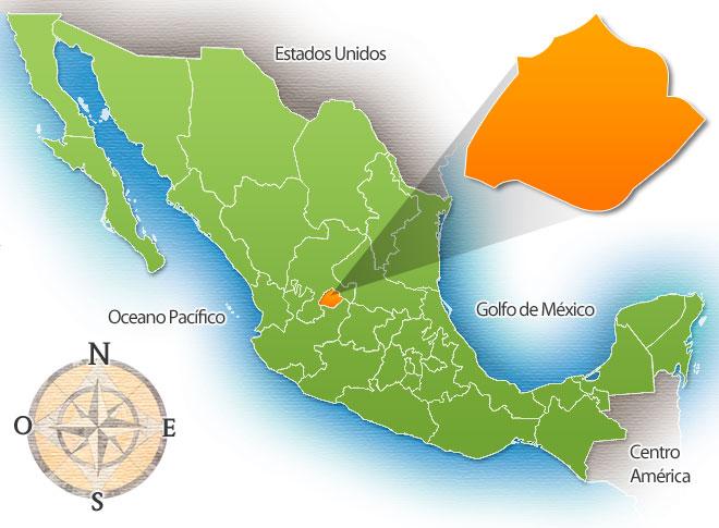 Municipios Del Estado De Aguascalientes México Mexico Real