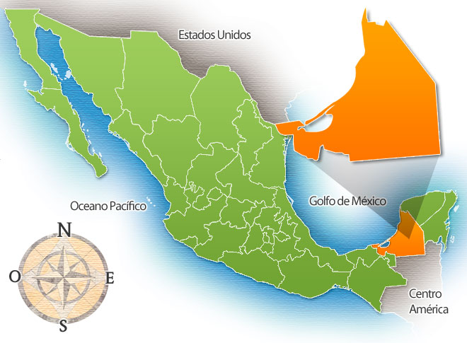 estado campeche mexico: