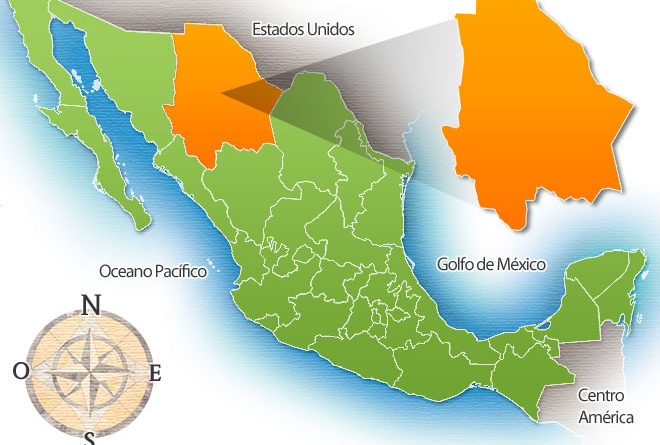 Estado de Chihuahua de la República Mexicana - Mexico Real