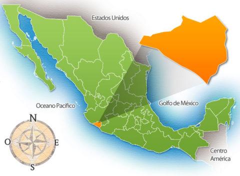 Estado de Colima de la República Mexicana