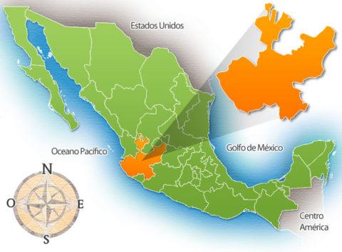 Estado de Jalisco de la República Mexicana
