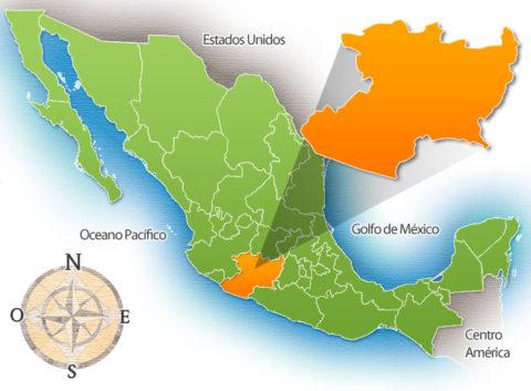 Estado de Michoacán de la República Mexicana