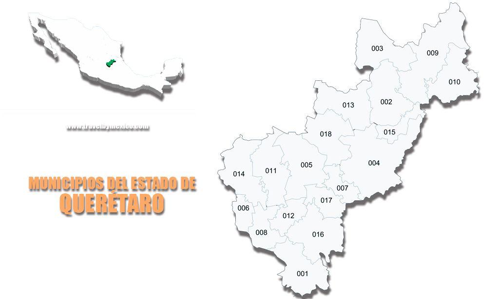 Municipios del Estado de Querétaro