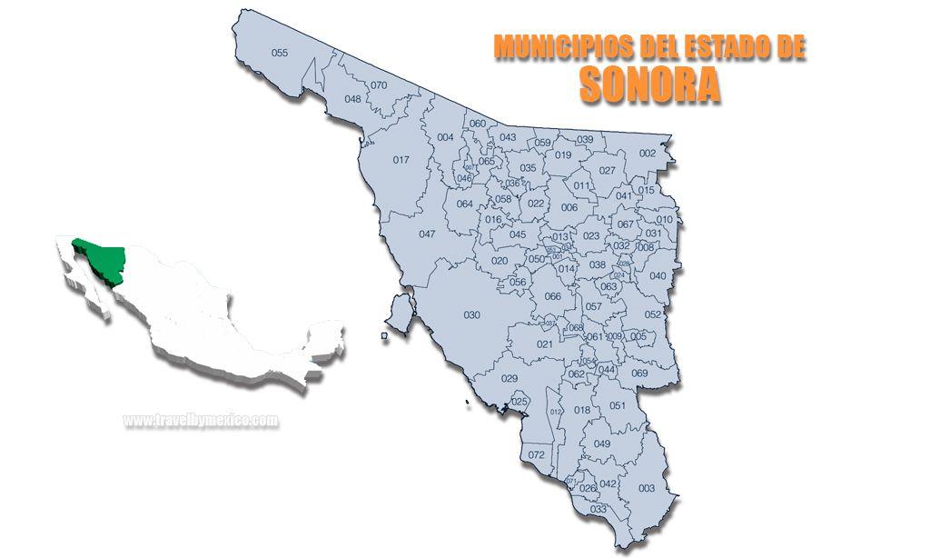 Municipios del Estado de Sonora