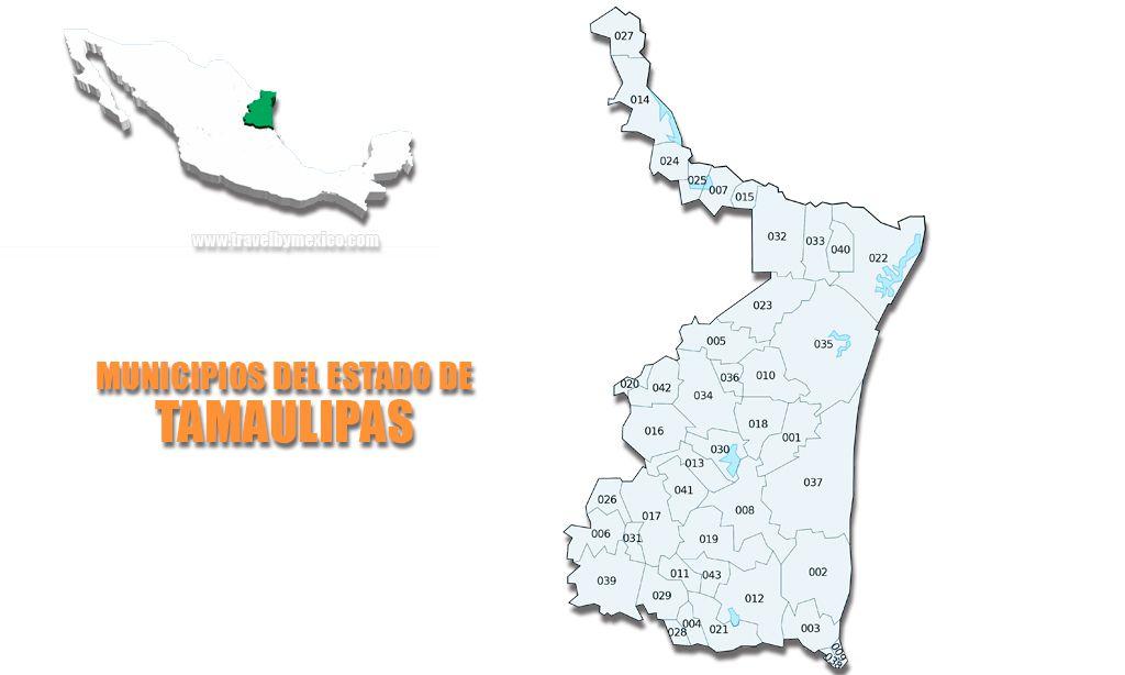Municipios del Estado de Tamaulipas