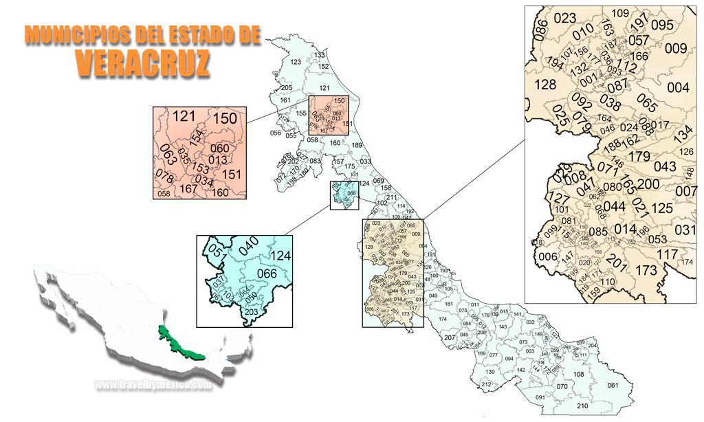 Municipios del Estado de Veracruz