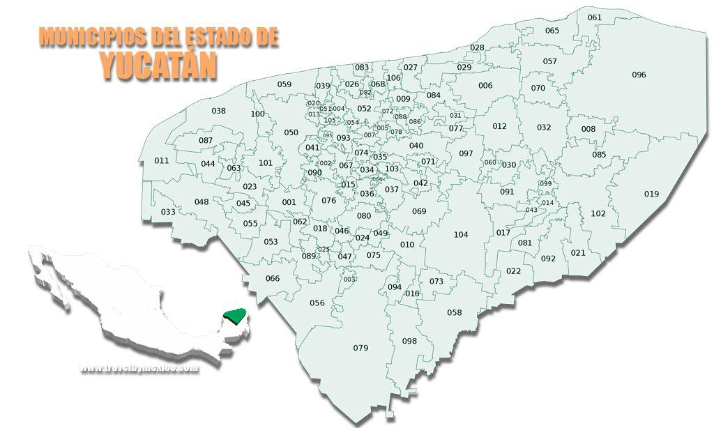 Municipios del Estado de Yucatán