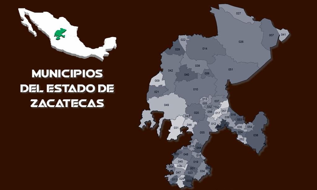 Municipios del estado mexicano de Zacatecas