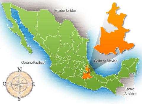 Estado de Puebla de la República Mexicana