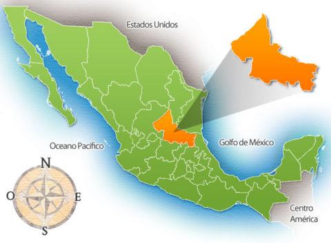 Estado de San Luis Potosí de la República Mexicana