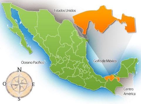 Estado mexicano de Tabasco en México.
