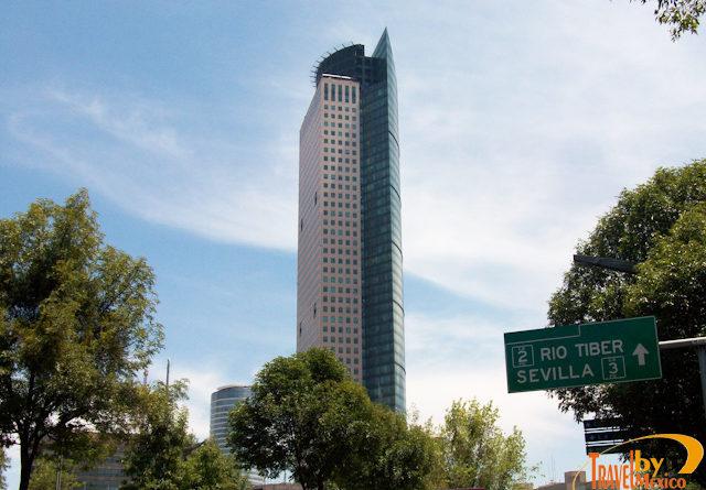 Torre Mayor en la CDMX