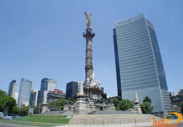 Monumento a la Independencia en la CDMX