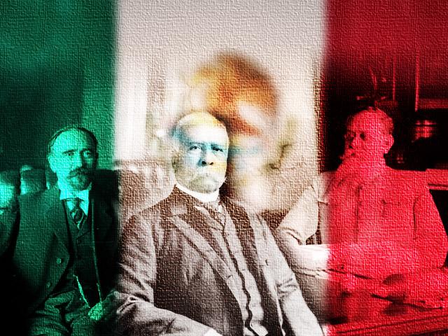 gobernantes durante la revolucion