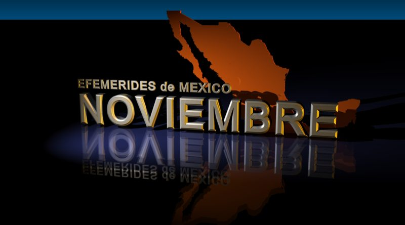 Noviembre: Efemérides de este mes