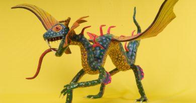 Alebrije dragón