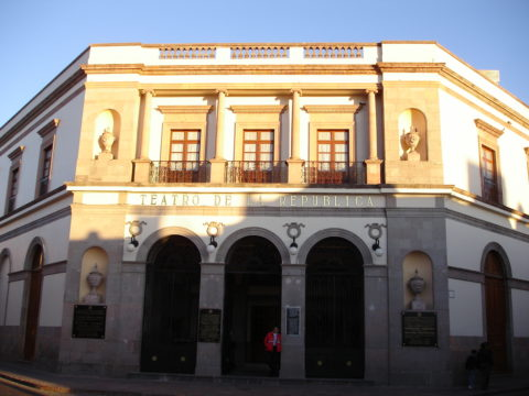 Teatro de la República en Querétaro