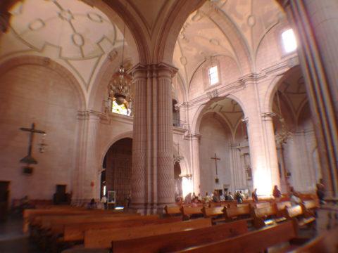 Interior de La Catedral de Zacatecas