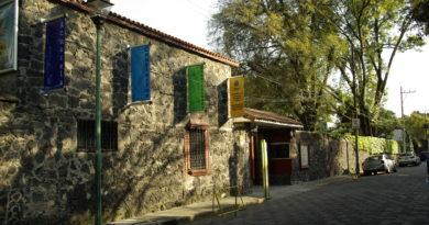 Fachada del Museo Nacional de la Acuarela Alfredo Guati Rojo