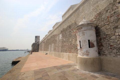 Exterior del fuerte de San Juan de Ulúa