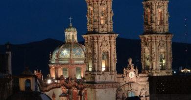 Taxco de Alarcón en el estado de Guerrero