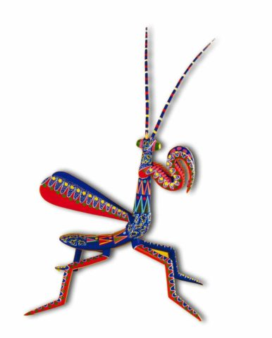Artesanía de Alebrije Mantis