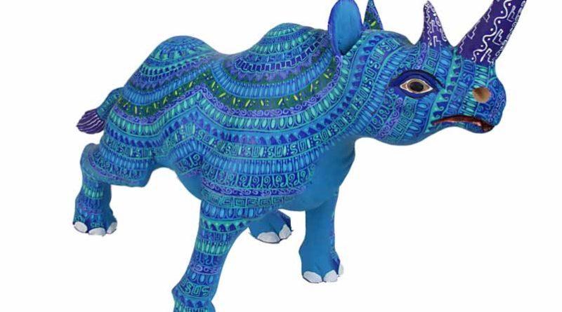 Alebrije rinoceronte