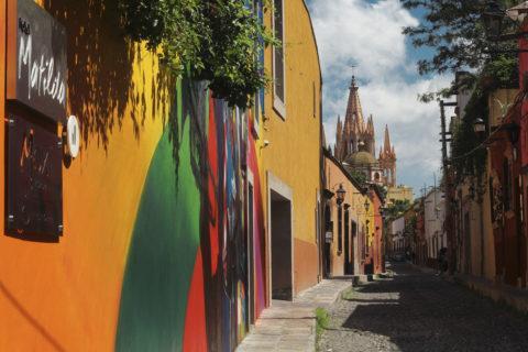 Calle Aldama en San Miguel de Allende