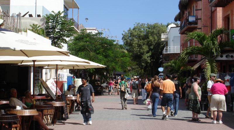 La Quinta Avenida en Playa del Carmen