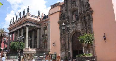 Teatro Juárez en Guanajuato
