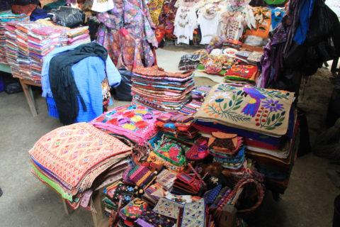 Textiles de Zinacantán en Chiapas