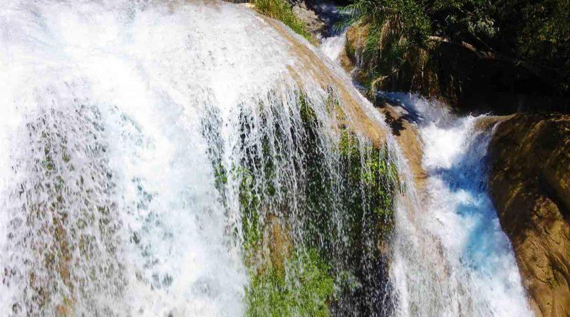 Cascada El Chiflón en Chiapas