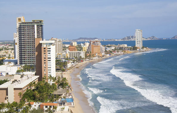 Las Playas en Mazatlán