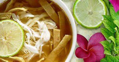 Cocina Maya y Gastronomía de Yucatán: Sopa de lima