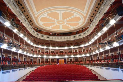 Teatro Ángela Peralta de Mazatlán Sinaloa.