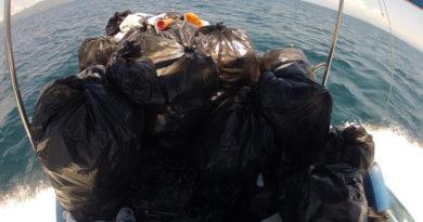 Limpieza en Islas Marietas