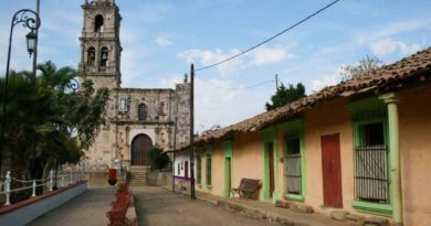 Pueblo de Copala en Sinaloa