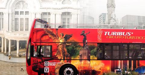 Turibus, el autobús panorámico de la CdMx