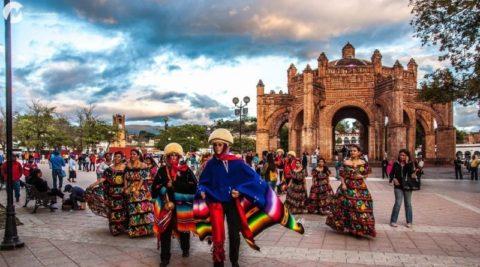 Plaza de Armas Ángel albino Corzo en Chiapas