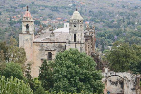 Exconvento de la Natividad en Tepoztlán
