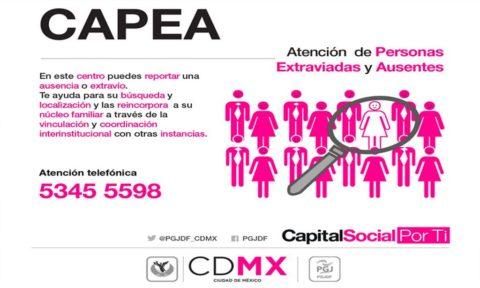 ¿Que significa el acrónimo CAPEA en la CDMX?