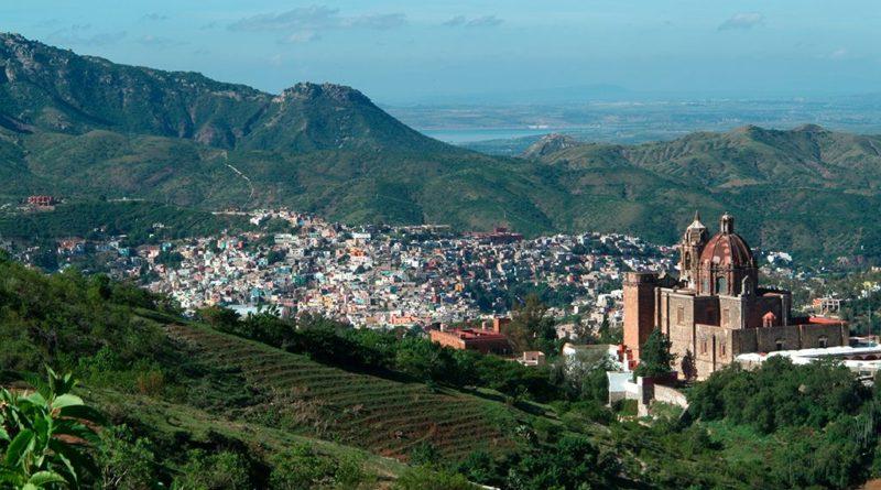 Panorámica de la Ciudad de Guanajuato