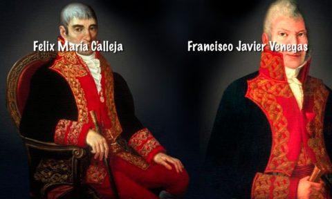 Felix María Calleja del Rey es el nuevo virrey.