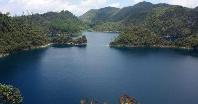 Lagunas de Montebello, Chiapas.