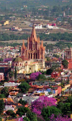 Vista desde el Mirador en San Miguel de Allende