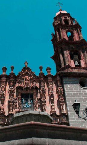 Iglesia de San Francisco en San Miguel de Allende