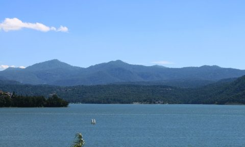 Lago de Valle de Bravo.