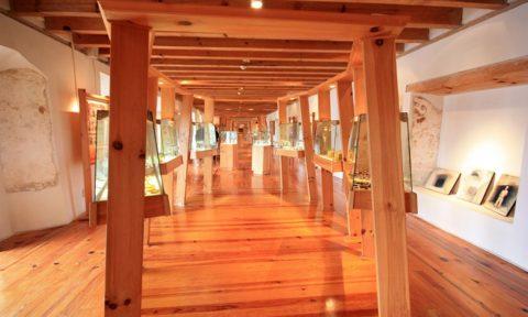 Interior del Museo del Ámbar.