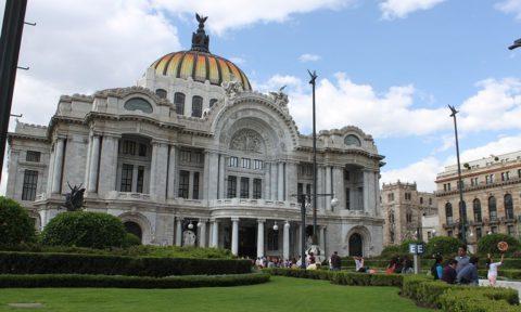 Palacio de Bellas Artes en la CDMX