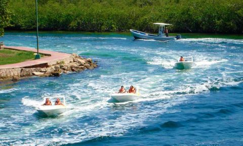 Turismo de aventura en Cancun.